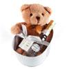 Teddy Bear And Champagne Bath Set